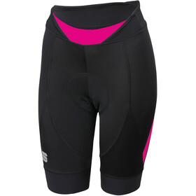 Sportful Neo Shorts Women Black/Bubble Gum